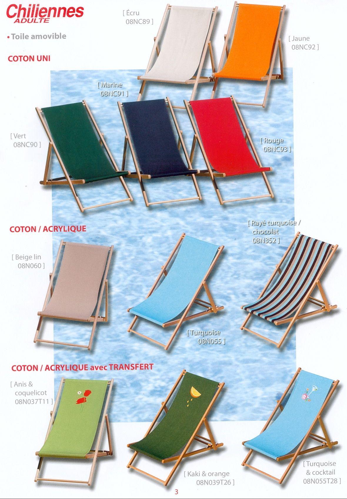 Transats bains de soleil et chaises longues for Chaises longues bois et toile